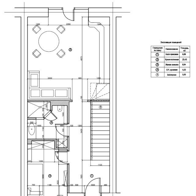 Строительство таунхауса в коттеджном поселке