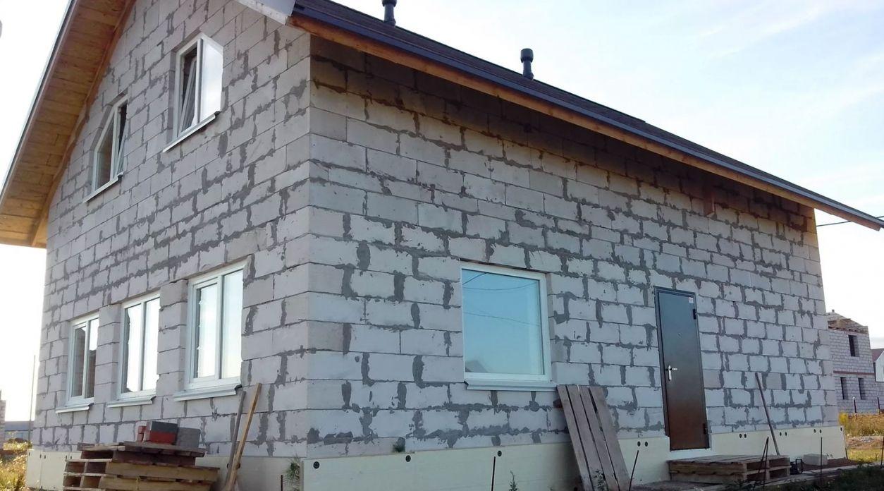 Строительство домов из газобетона