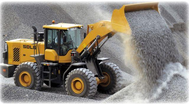 Доставка песка, щебня, торфа и грунта