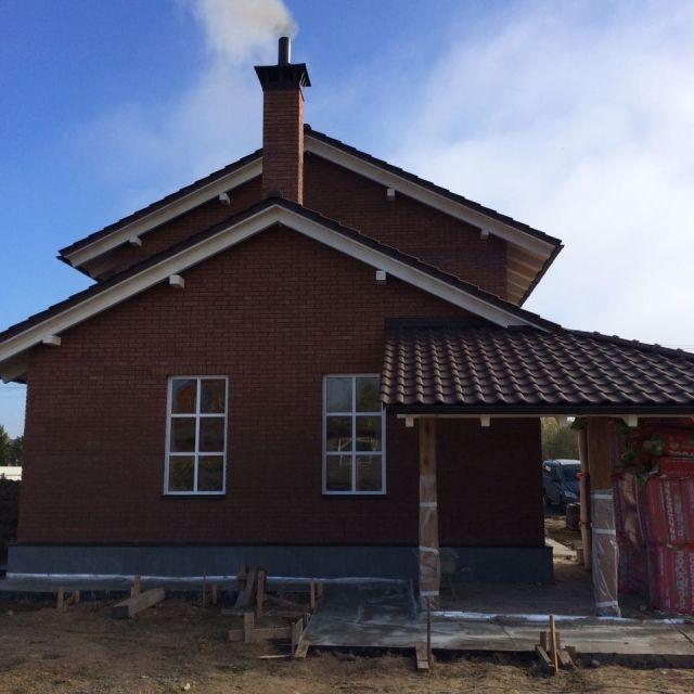 Строительство загородного котеджа